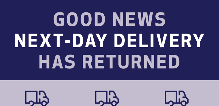 Next Day Delivery Is Back Large