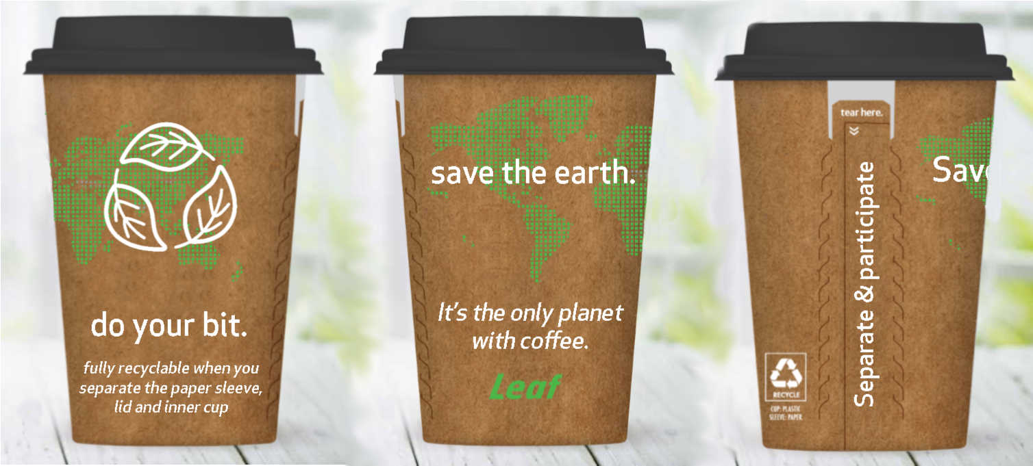 After Years Of Research And Development We Ve Created The World S First Truly Recyclable Disposable Coffee Cup