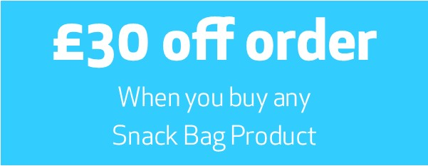 Snack Bag 30 off uk