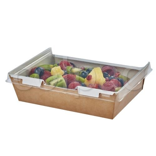 COMBIONE KRAFT 1280ML HINGED LID FOOD BOX