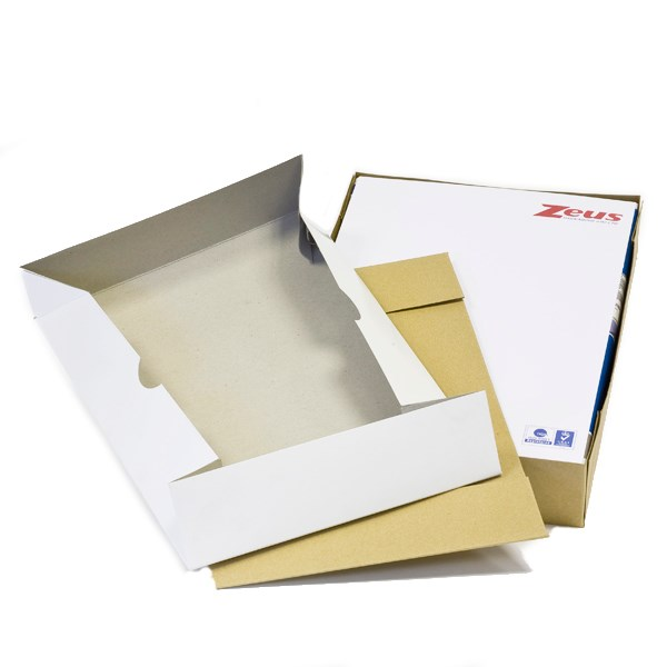 A4 WHITE REAM BOX AND LID BOX