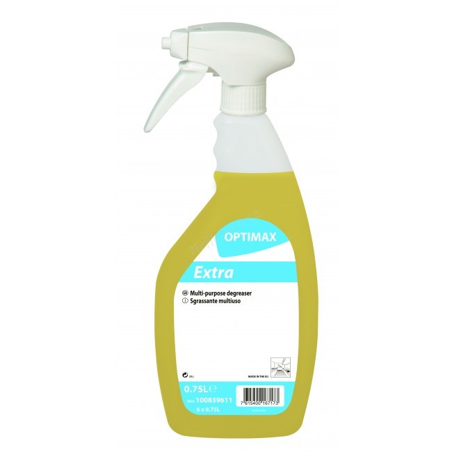 OPTIMAX EXTRA MULTI PURPOSE KITCHEN DEGREASER 750ML