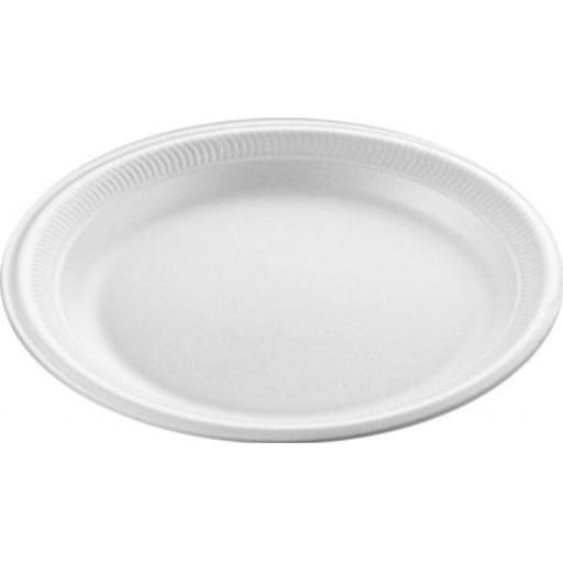 LINPAC LINDIS TP2 7 INCH WHITE POLYSTYRENE PLATE
