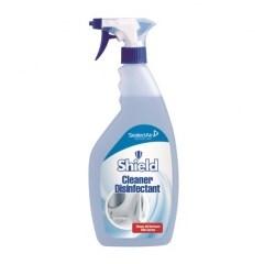 SHEILD CLEANER AND DISINFECTANT SPRAY FOR HARD SURFACES 750ML
