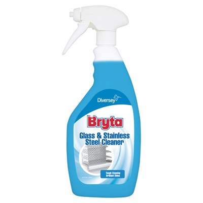 BRYTA GLASS  STAINLESS STEEL CLEANER 750ML
