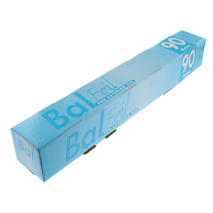 BAL 450MM CATERING TIN FOIL ROLL 90M