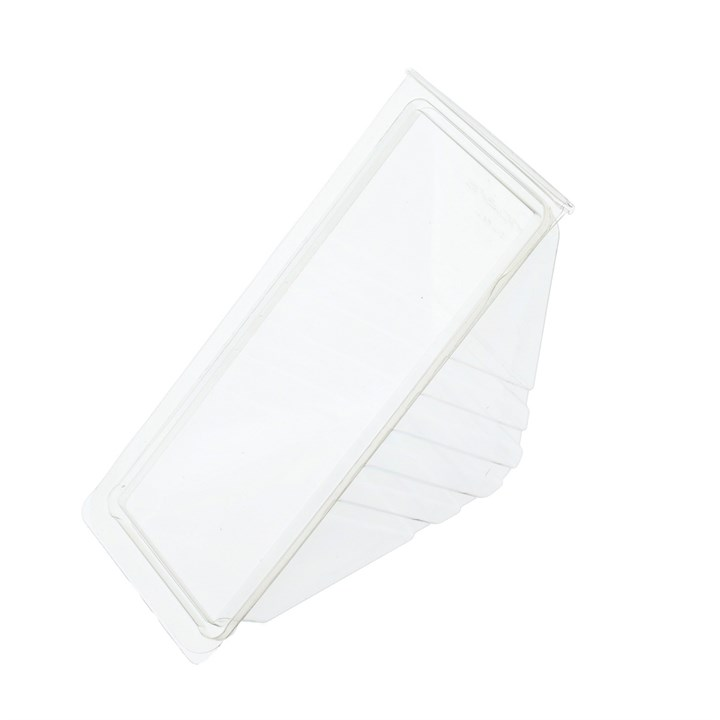DEEP FILL CLEAR PLASTIC SANDWICH WEDGES