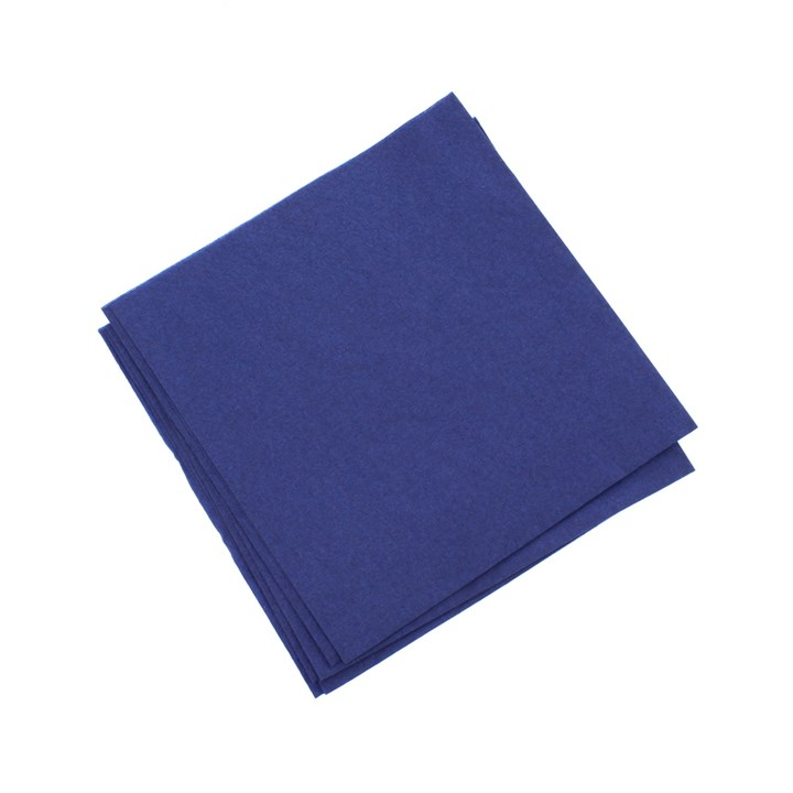 TORK MIDNIGHT BLUE LUNCH NAPKINS 2PLY 32 X 32CM