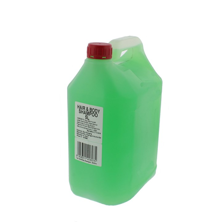 BULK PACK HOTEL HAIR AND BODY WASH SHOWER GEL 5 LITRE GREEN