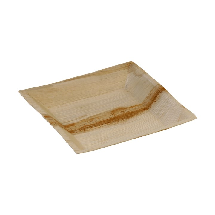 NATURESSE PALM LEAF COMPOSTABLE CUADRA PLATE