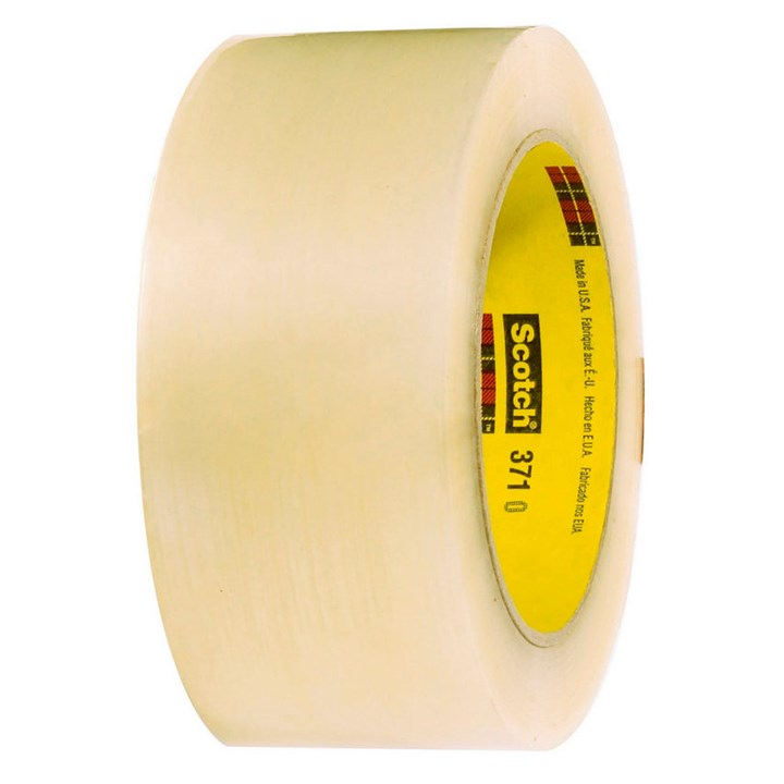 3M SCOTCH 371 CLEAR POLY PACKING TAPE 48MM X 66M ROLL