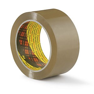 3M 309 BROWN NO NOISE TAPE 48MM X 66M ROLL
