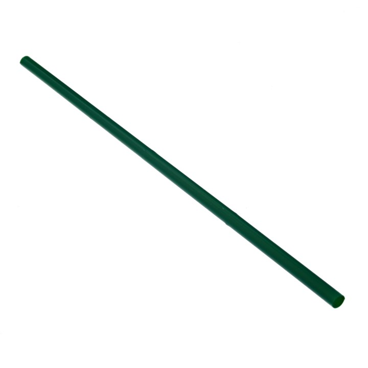 PLA COMPOSTABLE GREEN STRAIGHT DRINKING STRAW
