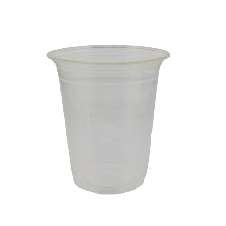 12OZ PLA COMPOSTABLE CLEAR SMOOTHIE CUP