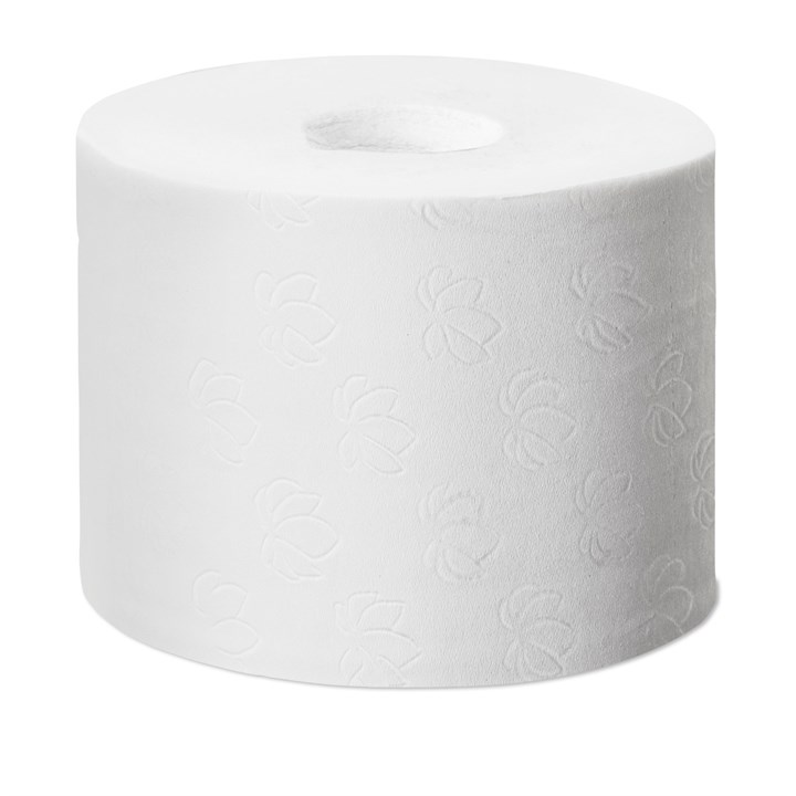 TORK CORELESS MID-SIZE TOILET ROLL T7 ADVANCED 9.3CM X 112.5M