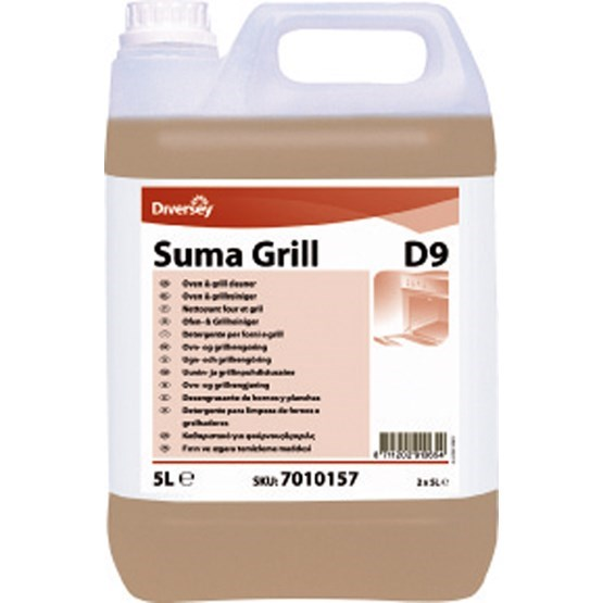 SUMA GRILL D9 PROFESSIONAL OVEN & GRILL CLEANER 5 LITRE