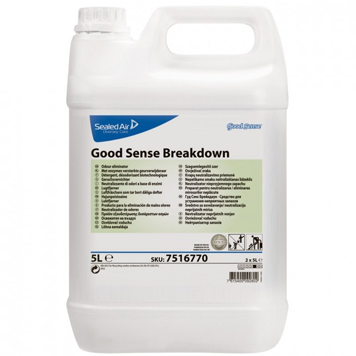 GOOD SENSE BREAKDOWN BIO BASED ODOUR NEUTRALISER AIR FRESHENER 5 LITRE