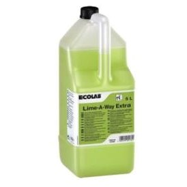 ECOLAB LIME A WAY EXTRA 5LTR GREEN HEAVY DUTY DELIMER