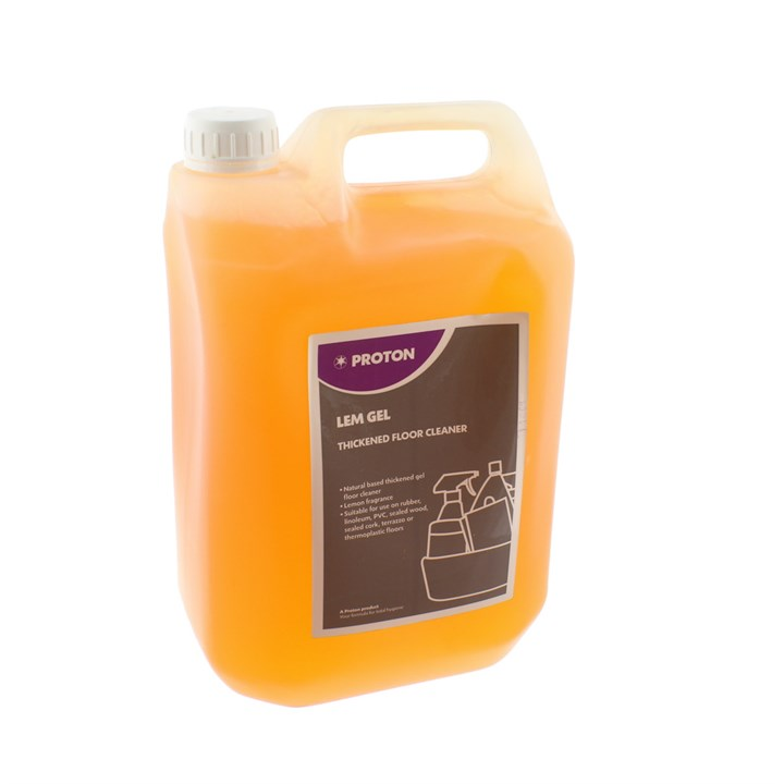 EVANS LEMON GEL THICKENED FLOOR CLEANER 5 LITRE