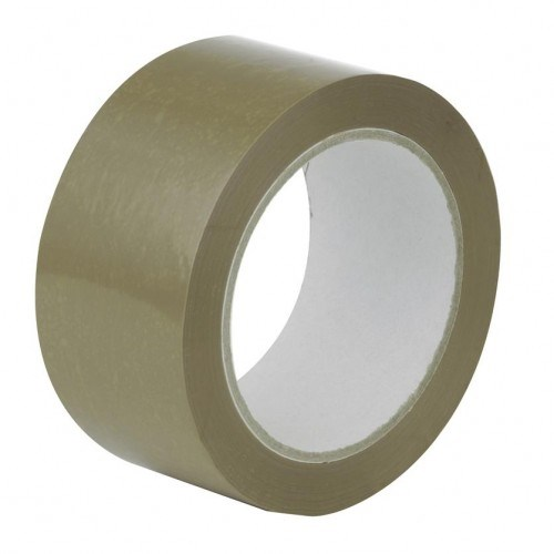 OLYMPIA BROWN POLYPROPYLENE HOT MELT TAPE 48MM X 150M ROLL