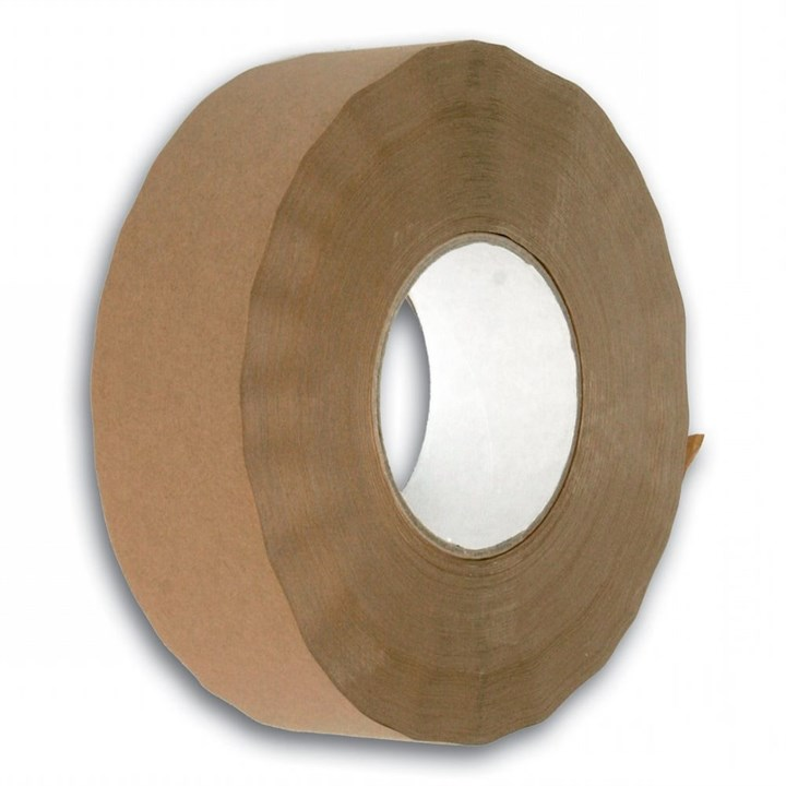 OLYMPIA BROWN ACRYLIC POLYPROPYLENE TAPE 75MM X 66M ROLL