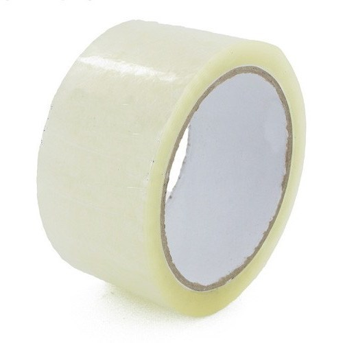OLYMPIA CLEAR POLYPROPYLENE HOT MELT TAPE 48MM X 150M ROLL
