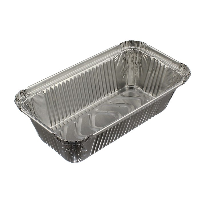 NO.6A TAKEAWAY FOIL TRAY CONTAINER 4 X 8 INCH