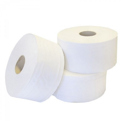 MINI JUMBO TOILET ROLL 3 INCH CORE 150M 2 PLY