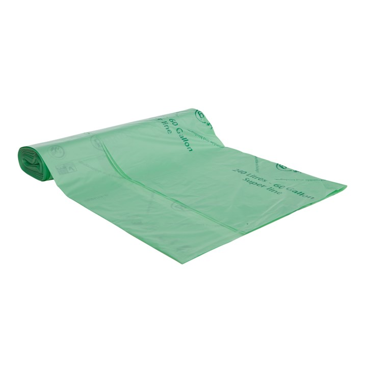Biobag Compostable 240 Litre Wheelie Bin Liners