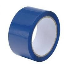 OLYMPIA BLUE VINYL TAPE 32MU 48MM X 132M ROLL