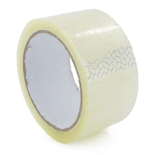 CLEAR PVC TAPE 48MM X 66M ROLL