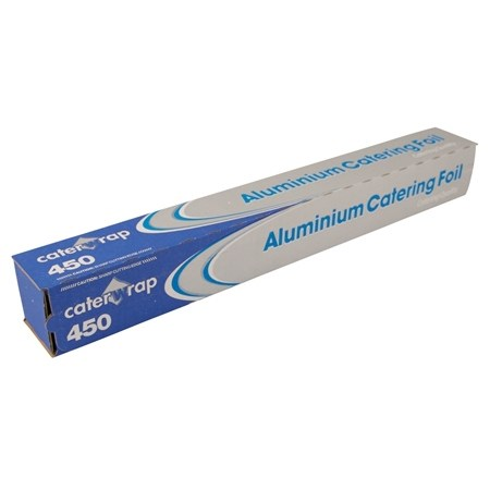 Caterwrap 450mm Catering Aluminium Tin Foil Roll 75M