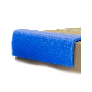 75MM X 75MM BLUE FEATHEREDGE L SECTION 2M LENGTH