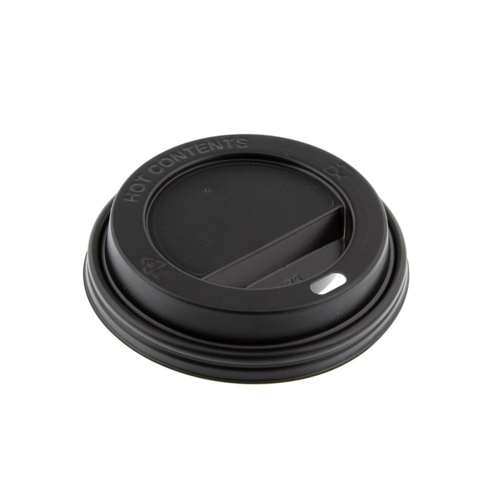 12/16/20OZ BLACK HOT COFFEE CUP LIDS