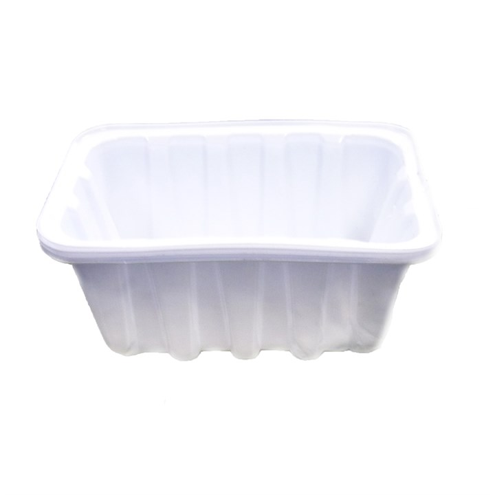 PLASTIC CHIP TRAY PUNNET 127 X 89 X 38MM