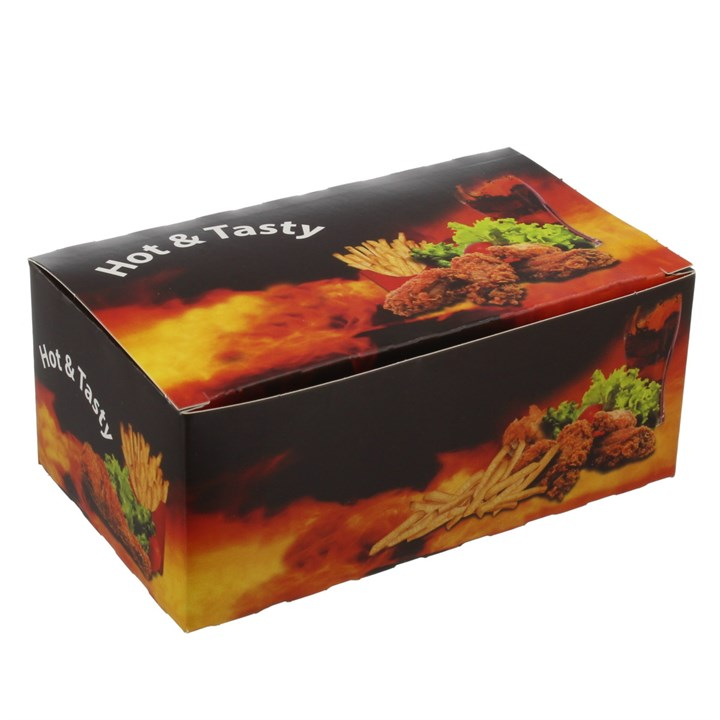 Hot & Tasty Printed Snack Boxes
