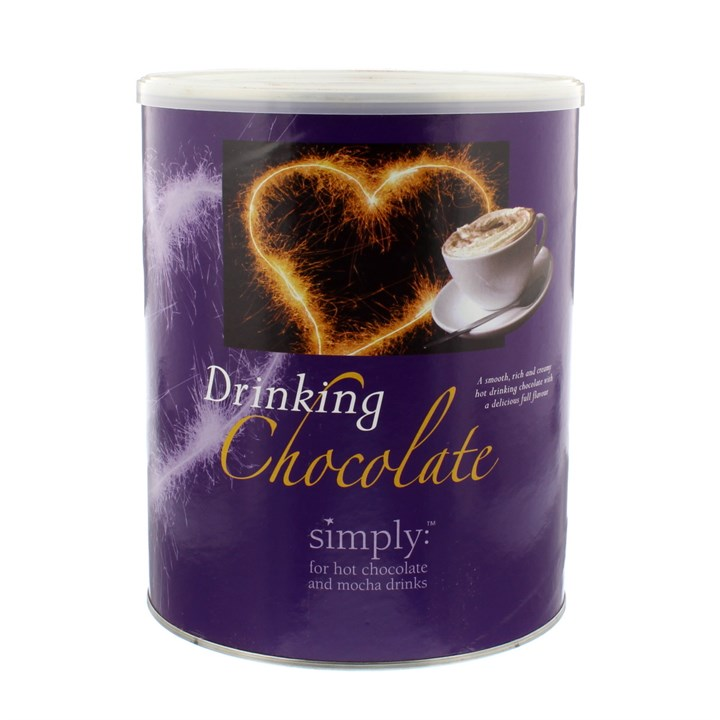 SIMPLY DRINKING HOT CHOCOLATE 1.8KG