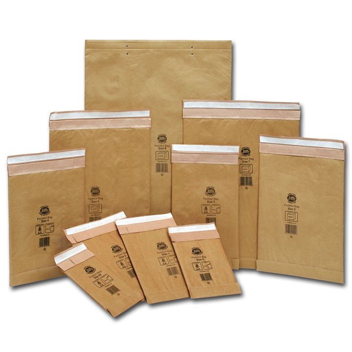 4/G Padded Jiffy Bags Envelopes 225 X 343mm