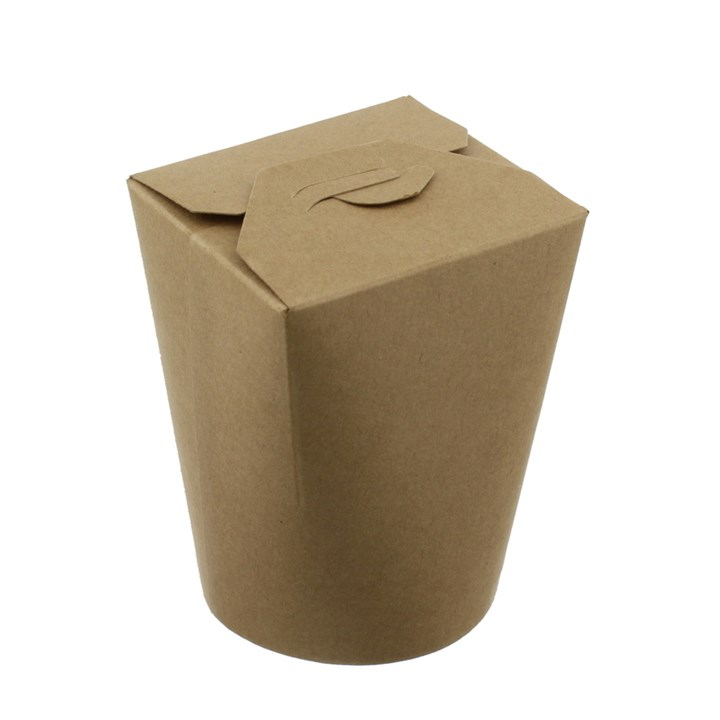 LEAF 26OZ BROWN KRAFT NOODLE BOXES