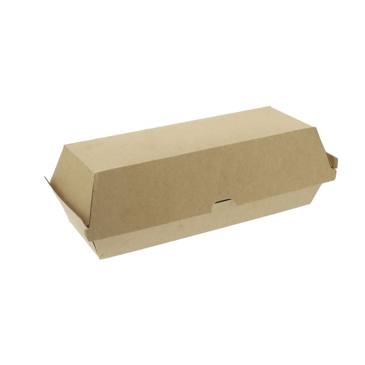 LEAF NO.13 COMPOSTABLE HOT DOG HOT FOOD BOX