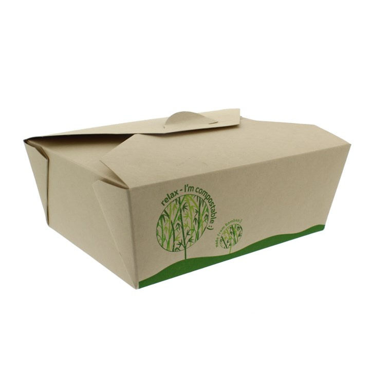 LEAFWARE COMPOSTABLE BAMBOO LEAKPROOF CONTAINER