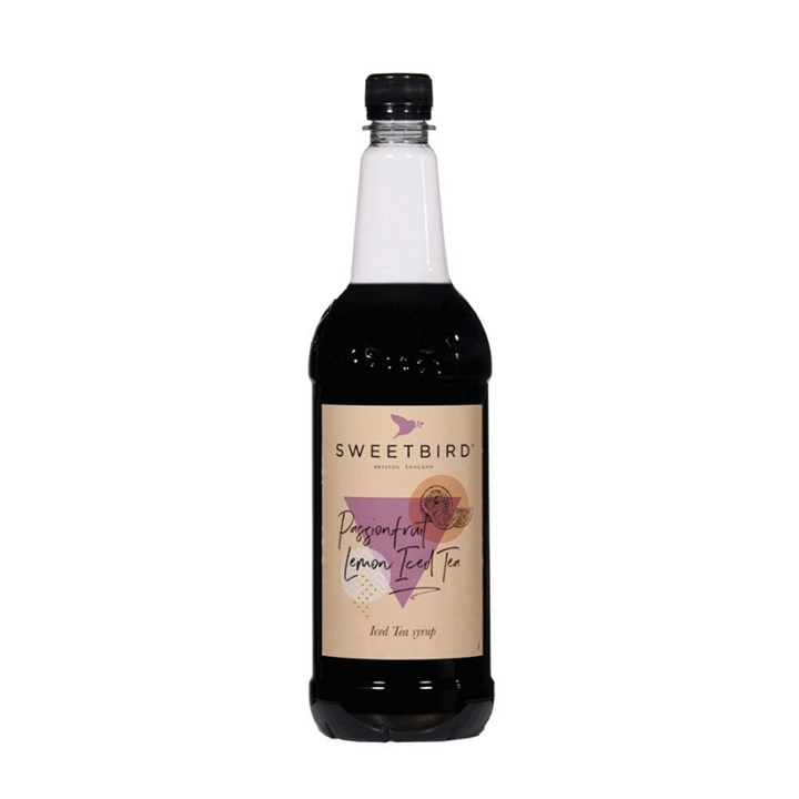 SWEETBIRD PASSIONFRUIT LEMON ICED TEA SYRUP 1 LITRE