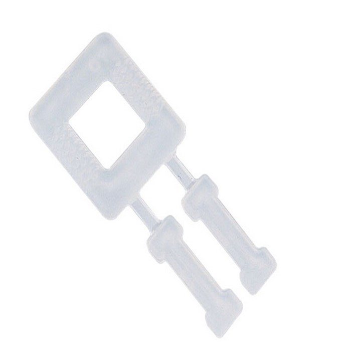 PLASTIC BUCKLES FOR POLYPROPYLENE STRAPPING 12MM