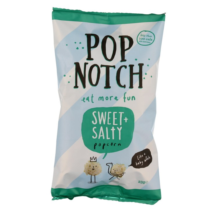 POP NOTCH SWEET AND SALTY POPCORN 23G
