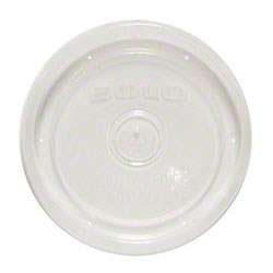 12OZ CLEAR PLASTIC SOUP CUP LID