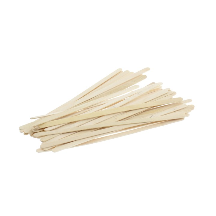 5.5 INCH COMPOSTABLE WOOD COFFEE TEA STIRRERS