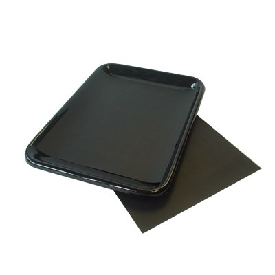 BLACK MEAT SAVER PAPER 250 X 300MM