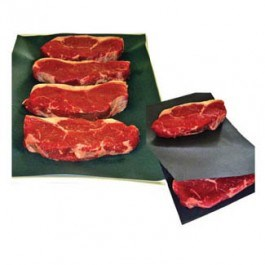 BLACK MEAT SAVER PAPER SHEETS
