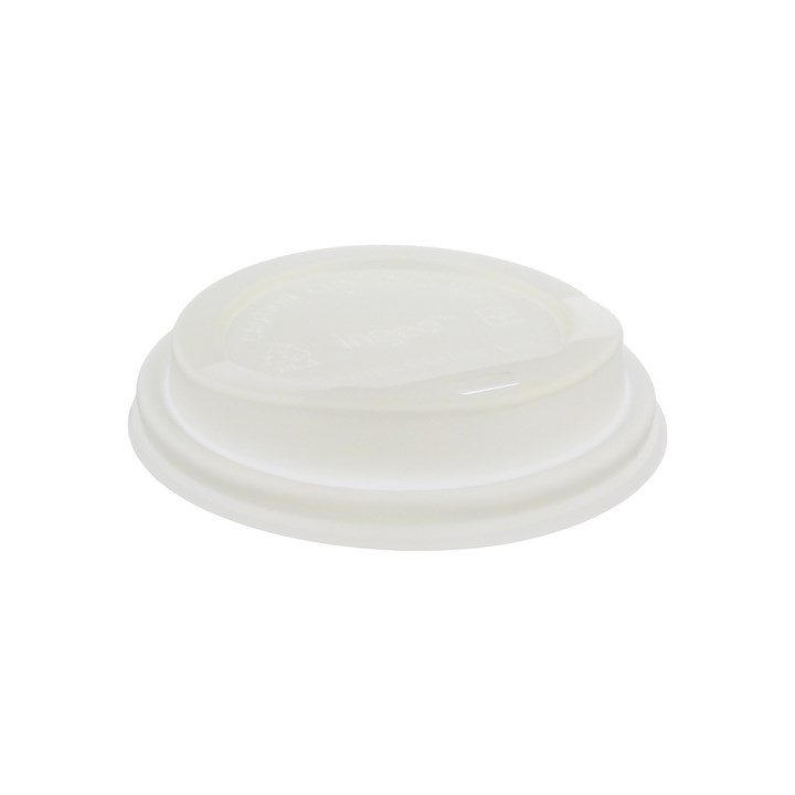 12/16/20OZ COMPOSTABLE PLA HOT COFFEE CUP LIDS