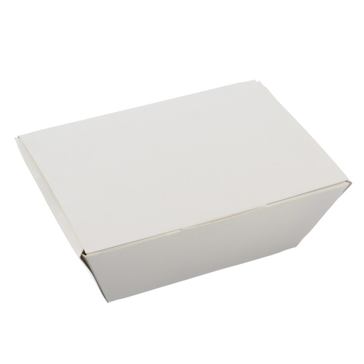 SMALL WHITE NESTED KRAFT FOOD BOX